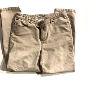 Chico's Tan Jeans